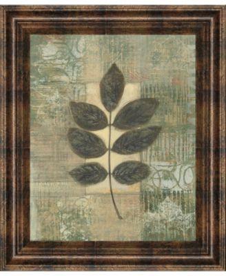 """Leaf Textures II by Norman Wyatt, Jr. Framed Print Wall Art, 22"""" x 26"""""""