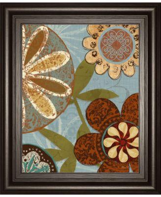 "Persian Garden II by Katrina Craven Framed Print Wall Art, 22"" x 26"""