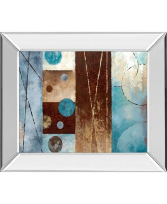 "Roll with It II by Nan Mirror Framed Print Wall Art, 22"" x 26"""