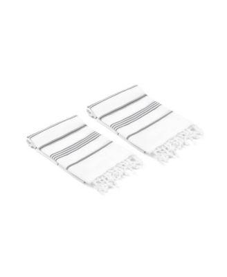 Datca Turkish Hand/Kitchen Towel Set of 2