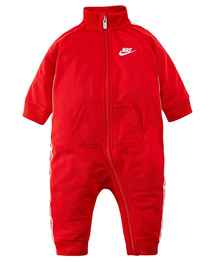 Nike - Baby Boys Logo-Taping Full-Zip Coverall
