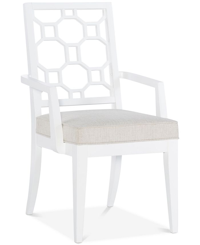 Furniture - Chelsea Lattice Back Arm Chair