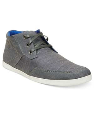 Steve Madden Mens Shoes Grecko Canvas Sneakers Mens Shoes