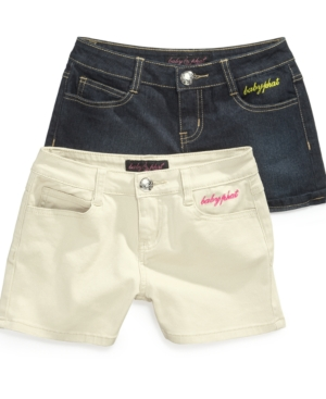 Baby Phat Kids Shorts Girls Denim Shorts