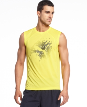 Puma Shirt Sleeveless Graphic T Shirt