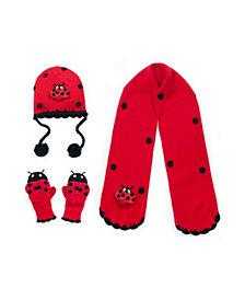 Kidorable Big Girl Ladybug Big Knitwear Set