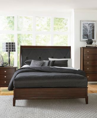 Norhill Sleigh Bed - King