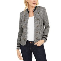 Deals on Tommy Hilfiger Military Band Jacket