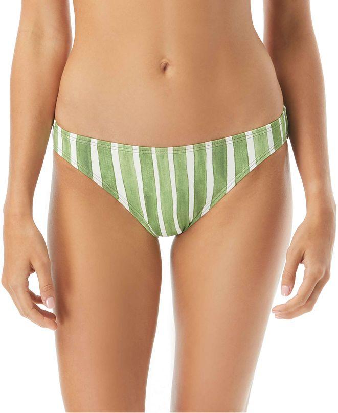 Vince Camuto Hammock Striped Bikini Bottoms