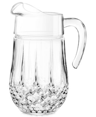 Longchamp Glassware, Pitcher