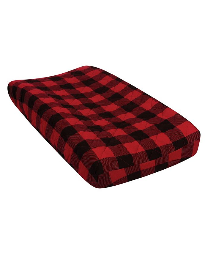 Trend Lab - Buffalo Check Quilted Jersey Changing Pad Cover