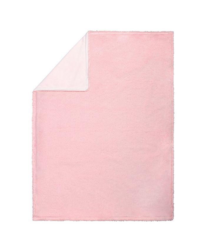 Trend Lab - Pink Plush Baby Blanket