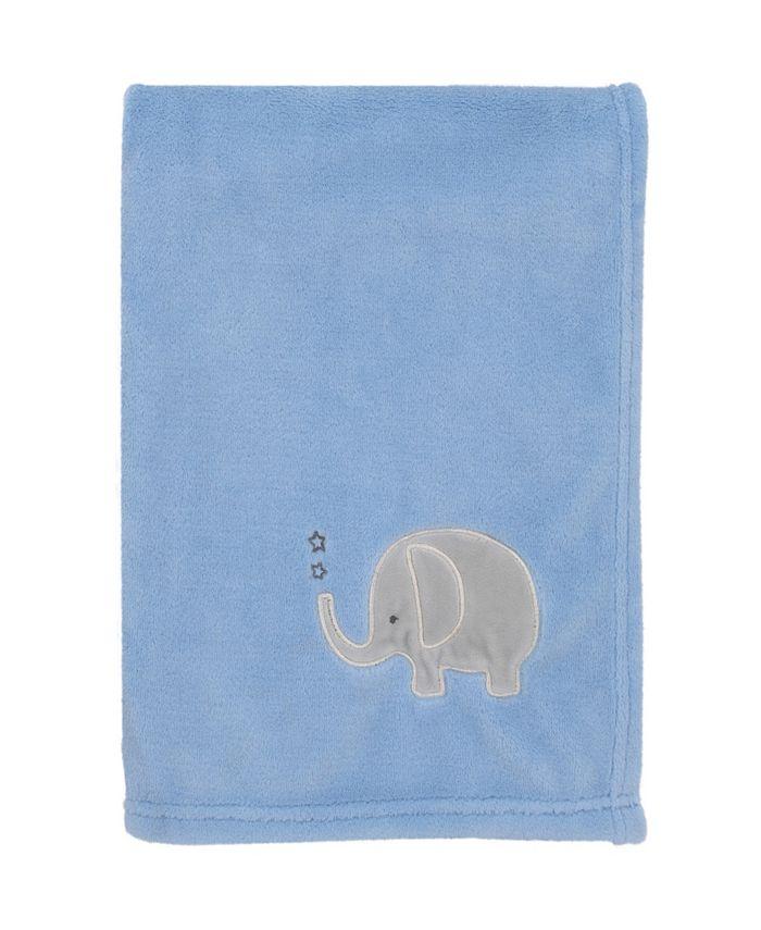 NoJo - Elephant Applique Baby Blanket
