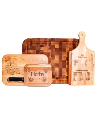 Catskill Cutting Boards, 4 Piece Set