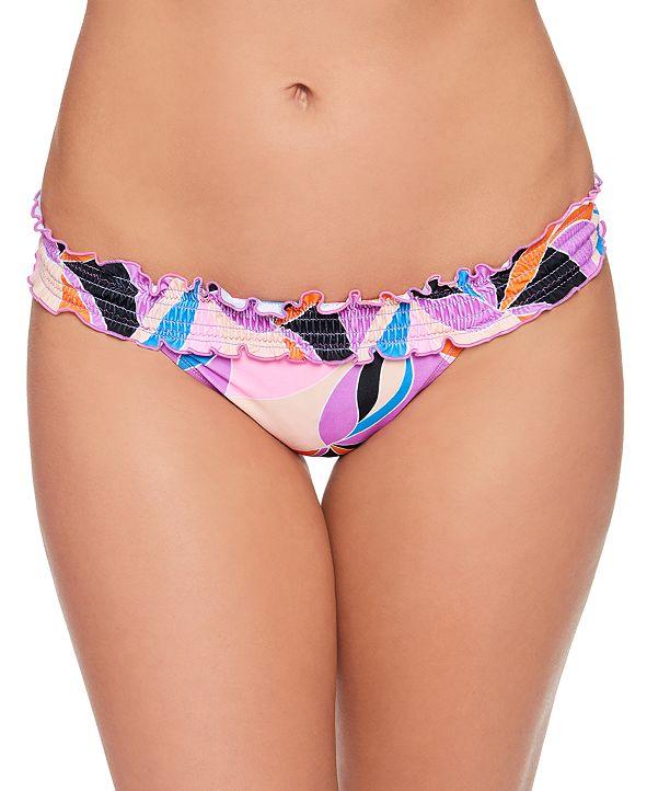 Salt + Cove Juniors' Kaleidescope Smocked Bikini Bottoms, Created for Macy's