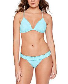 Salt + Cove Juniors' Smocked Triangle Bikini Top & Smocked Bikini Bottoms, Created for Macy's