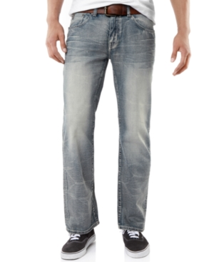 Marc Ecko Jeans Bootcut Faded Crystal Wash