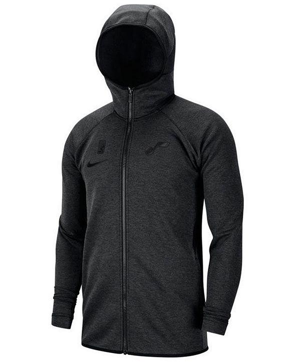 Nike Men's Utah Jazz Showtime Dry Full-Zip Hoodie