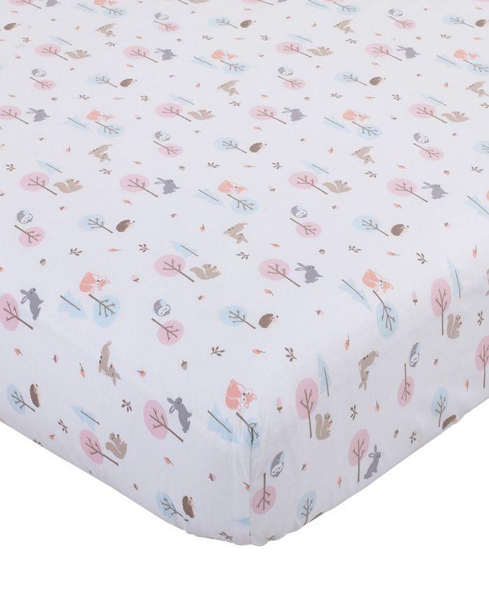 Carter's - Woodland Print Mini Crib Sheet