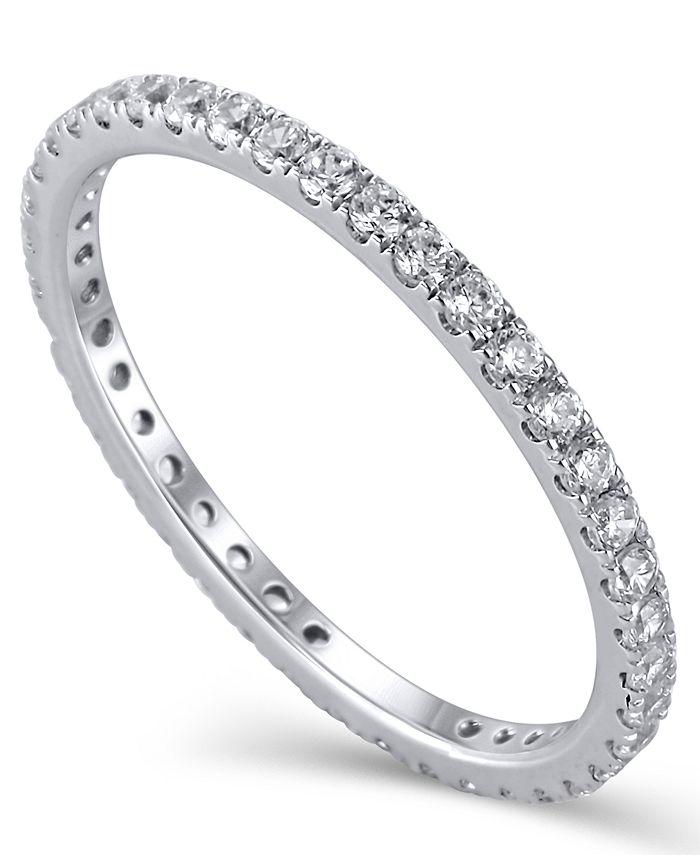 Macy's - Diamond (1/2 ct.t .w.) Eternity Band in 14K White Gold