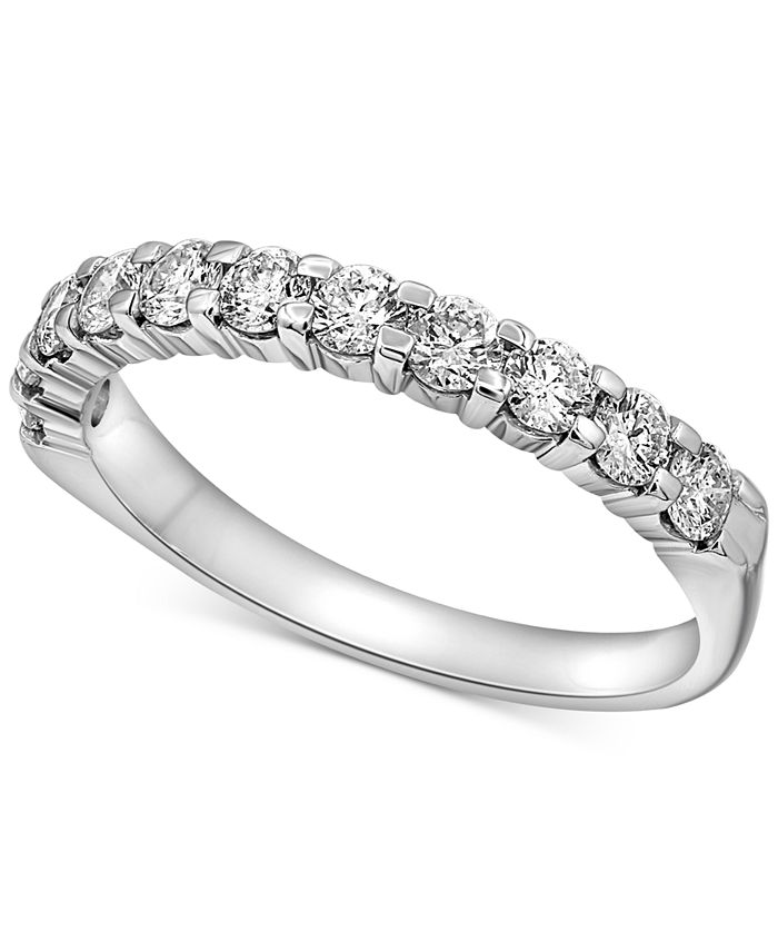 Macy's - Diamond Band (1-1/2 ct. t.w.) in 14k White Gold