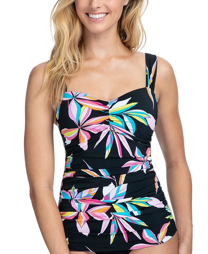 Profile by Gottex - Paparazzi Underwire Tankini Top, Available in D Cup