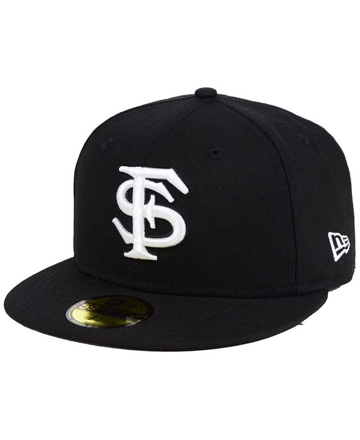 New Era - Core Black White 59FIFTY Fitted Cap