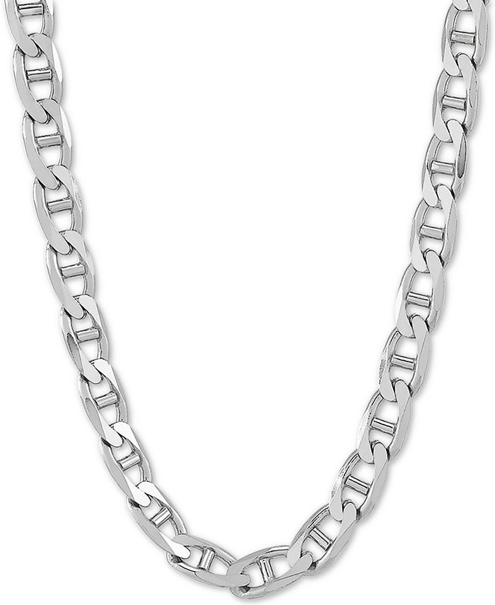 """Macy's - Mariner Link 22"""" Chain Necklace in Sterling Silver"""