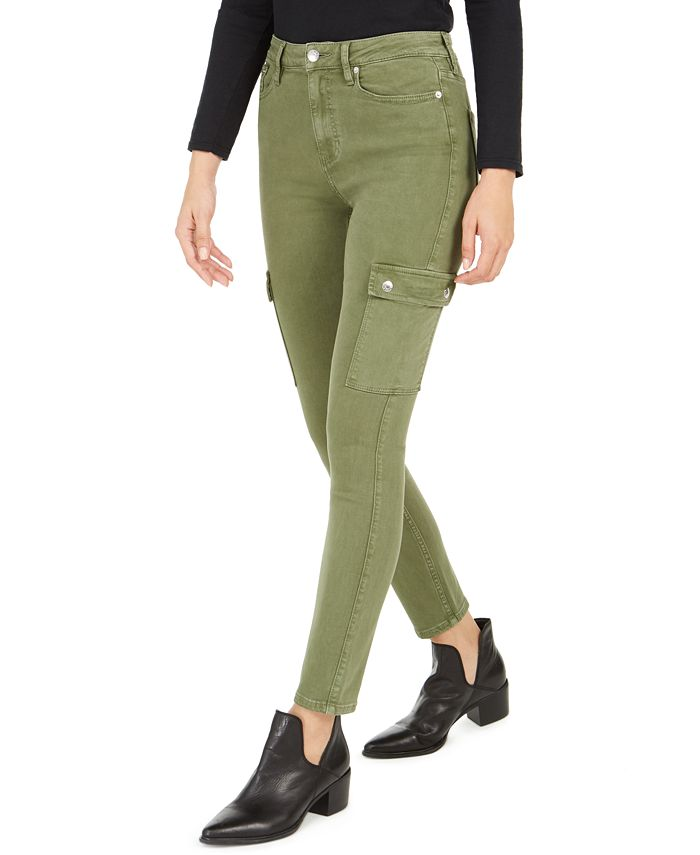 Calvin Klein Jeans - High-Rise Skinny Cargo Jeans