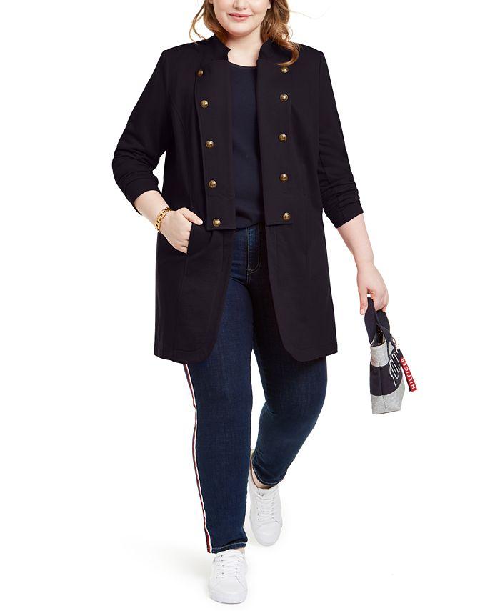 Tommy Hilfiger - Plus Size Band Jacket