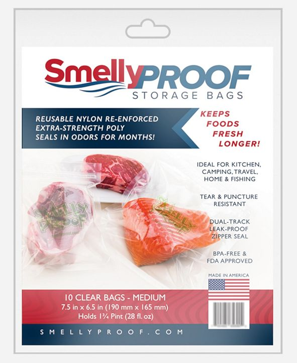 "Smelly Proof Bags Hang Tag, 6.5"" H x 0.3"" L"
