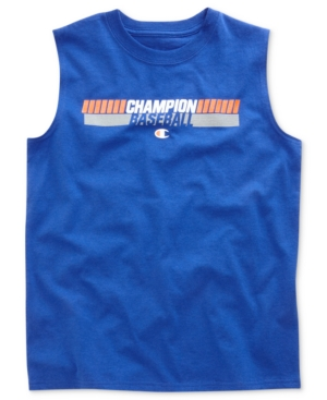 Champion Kids Shirt Boys Muscle Graphic Tee