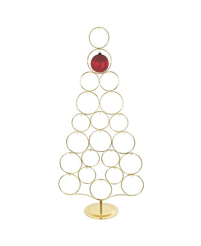 Kurt Adler - 42-Inch Gold Metal Tree Rack