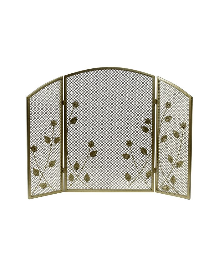 Noble House - Greenbrier Fireplace Screen, Quick Ship