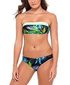 Salt + Cove Juniors' Bandeau Bikini Top & Bottoms, Created for Macy's