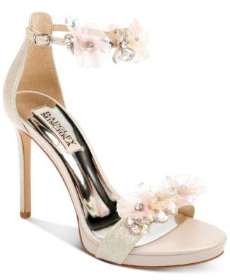 Badgley Mischka Cardi Evening Sandals