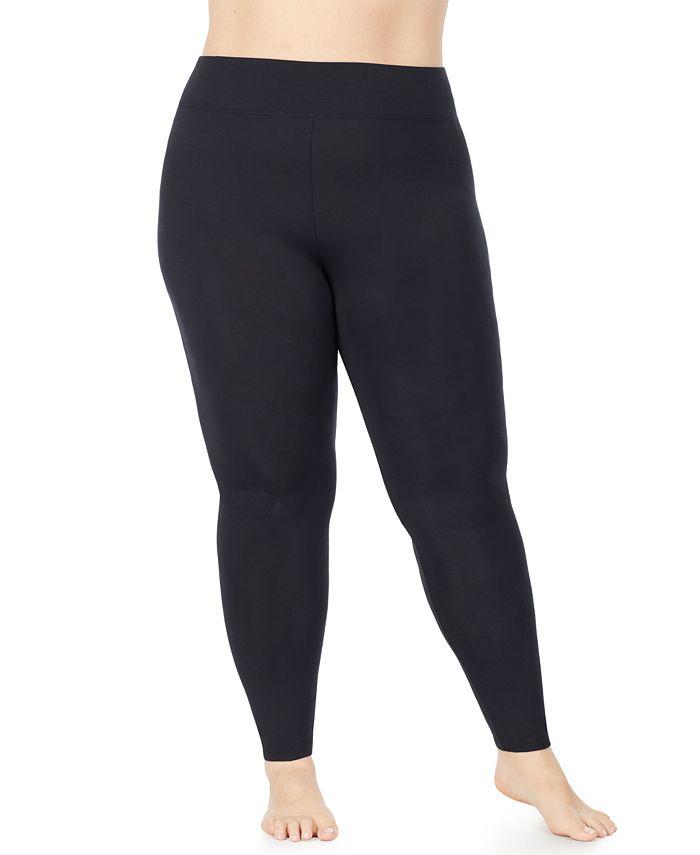 Cuddl Duds - Plus Size Softwear Stretch Leggings CD4020816