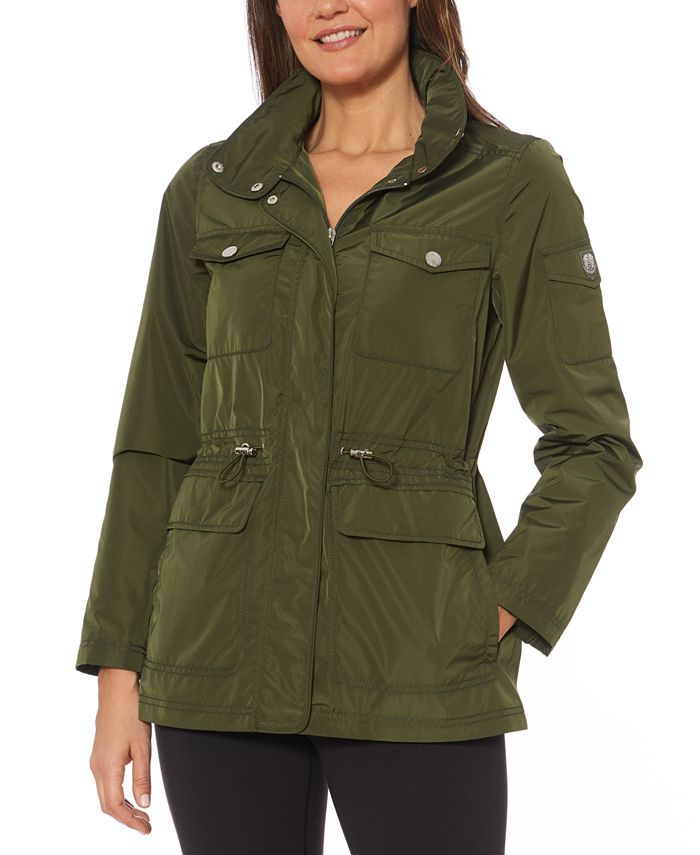 Vince Camuto - Cinched-Waist Anorak