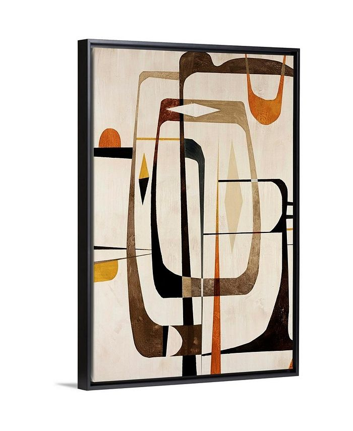 "GreatBigCanvas - 20 in. x 30 in. ""Strano Ma Vero II"" by  Tony Wire Canvas Wall Art"