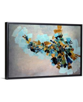 """'Kaleidoscope' Framed Canvas Wall Art, 24"""" x 16"""""""