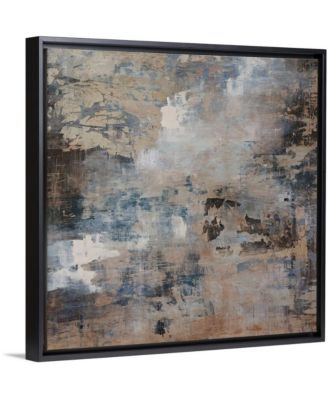 """16 in. x 16 in. """"Ice Flow"""" by  Alexys Henry Canvas Wall Art"""