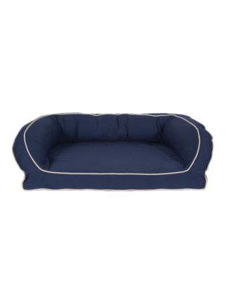 Classic Canvas Bolster Bed, Contrast Cording