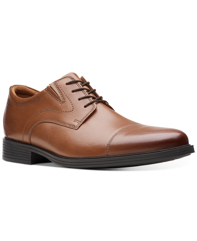 Clarks Men's Whiddon Cap-Toe Oxfords & Reviews - All Men's Shoes - Men - Macy's
