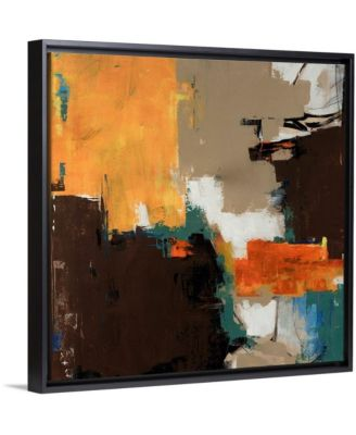 """36 in. x 36 in. """"Peanut Butter Cup"""" by  Sydney Edmunds Canvas Wall Art"""