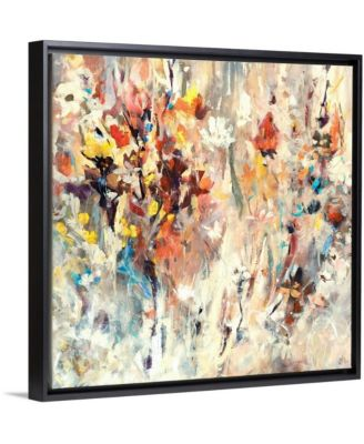 "36 in. x 36 in. ""Courtyard"" by  Jodi Maas Canvas Wall Art"