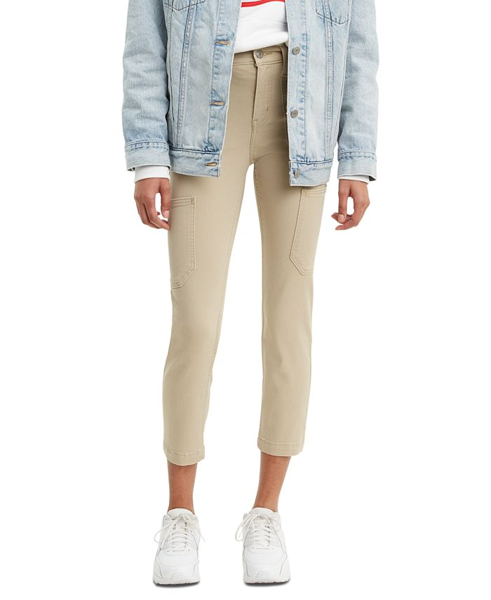 Levi's - 724 Utility Cropped Jeans