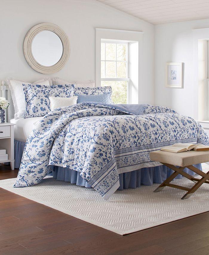 Laura Ashley - Veronique Queen Comforter Set