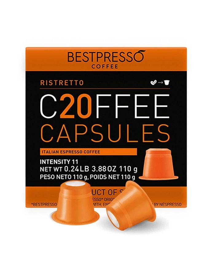 Bestpresso - Ristretto Flavor 20 Capsules per Pack