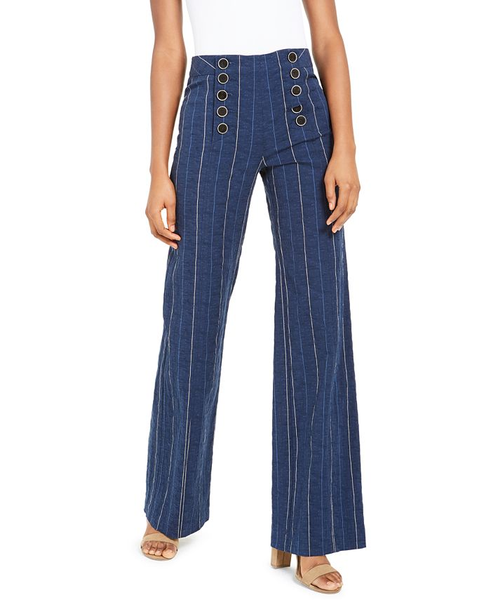 Nanette Lepore - Striped Sailor Pants