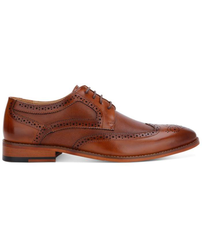 Kenneth Cole Reaction Men's Blake Wingtip Oxfords & Reviews - All Men's Shoes - Men - Macy's